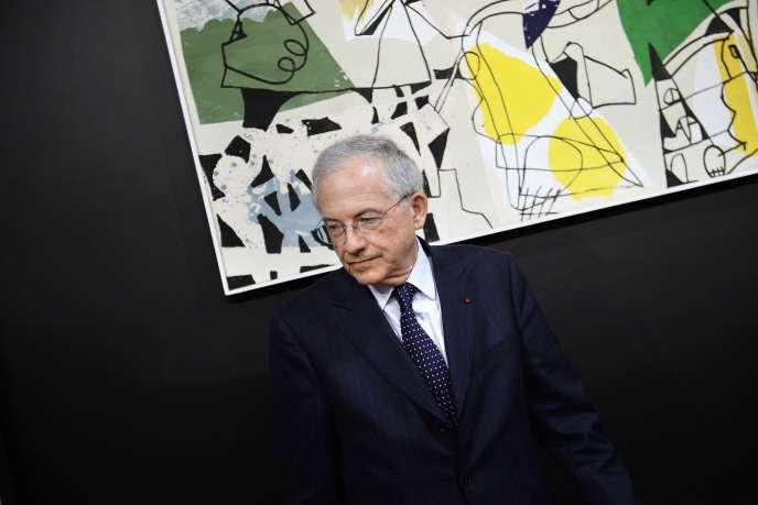 Le président du CSA, Olivier Schrameck. AFP PHOTO / STEPHANE DE SAKUTIN