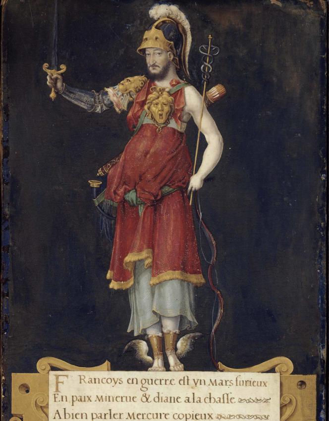 François Ier en déité polymorphe, vers 1550.