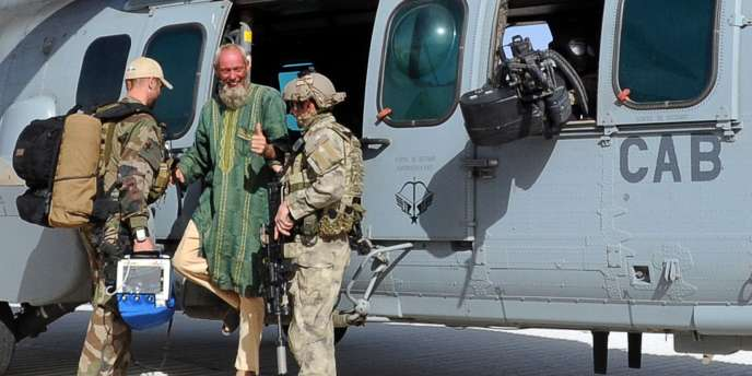 Sjaak Rijke avait été enlevé à Tombouctou le 25 novembre 2011. Il a été « évacué et mis en sécurité » à l'issue d'une opération des forces spéciales françaises, lundi.