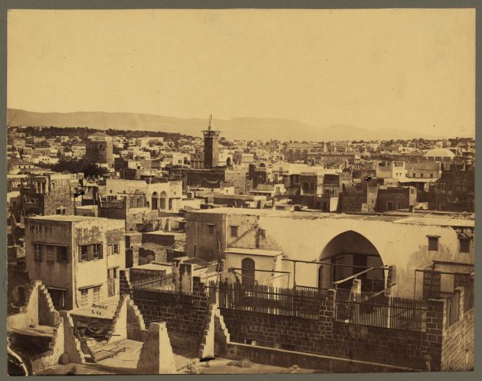 « Les Druzes de Belgrade » plonge dans l'histoire, violente déjà, du Liban ottoman au XIXe siècle, à travers les épreuves d'un héros malchanceux. Rabee Jaber, saisissant.(photo: Beyrouth, fin XIXe siècle).