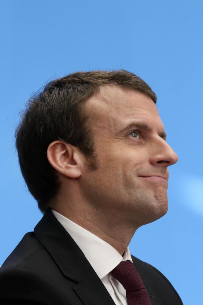 Emmanuel Macron, ministre de l'économie, est l'invité du Monde Festival.