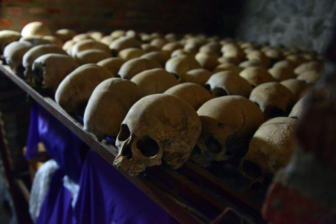 Au mémorial du génocide de Nyamata, au Rwanda.