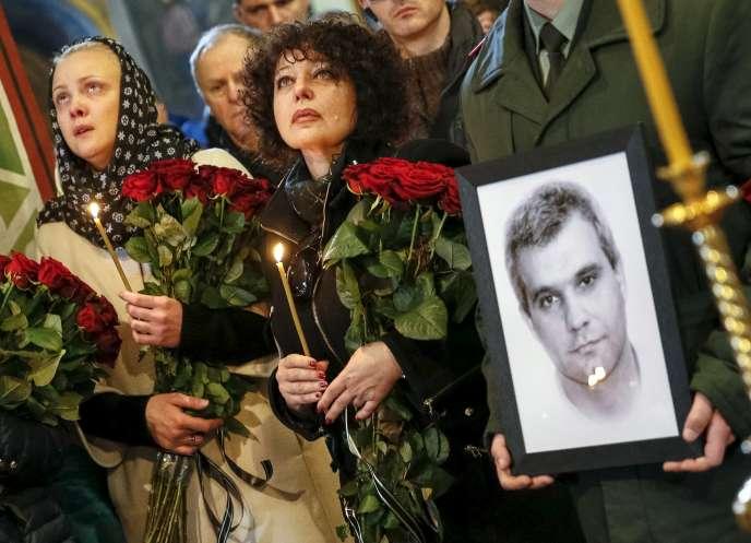 Funérailles d' Ihor Branovytsky, le 3 avril 2015.