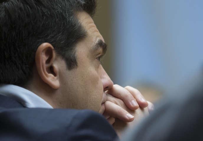Le premier ministre grec, Alexis Tsipras, le 9 avril à Moscou.