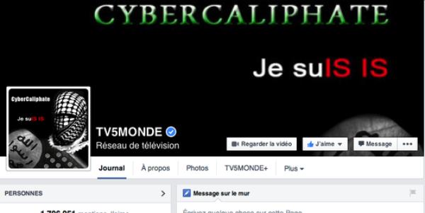 La page Facebook de TV5 Monde, le compte Twitter de TV5 Afrique et les antennes du groupe ont été attaqués.