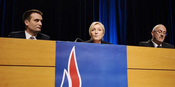 Marine Le Pen a accusé mercredi son père de lui « nuire » par des « provocations grossières ».