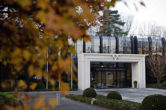 Le siège du CIO, à Lausanne (Suisse).