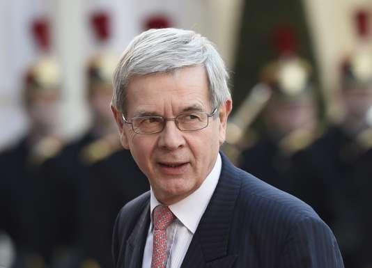 Le président du conseil d'administration d'Areva Philippe Varin, le 10 avril 2015.