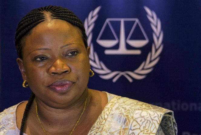 Fatou Bensouda, le 27 février à Kampala.