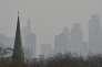 Londres (Royaume-Uni) sous la pollution, en 2015.