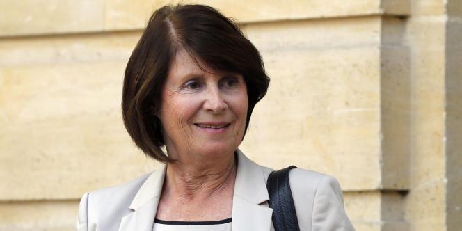 La présidente de la CNCDH, Christine Lazerges, à Matignon, en septembre 2012.