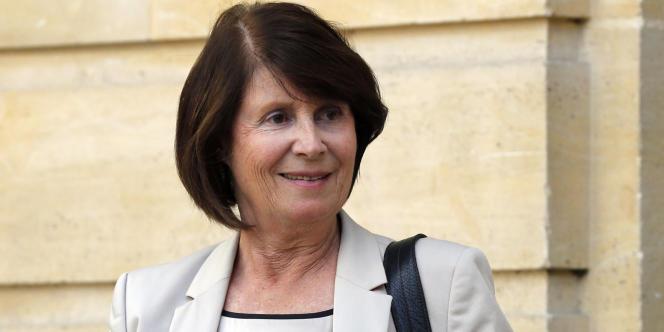 Christine Lazerges, la présidente de la Commission nationale consultative des droits de l'homme, le 24 septembre 2012.