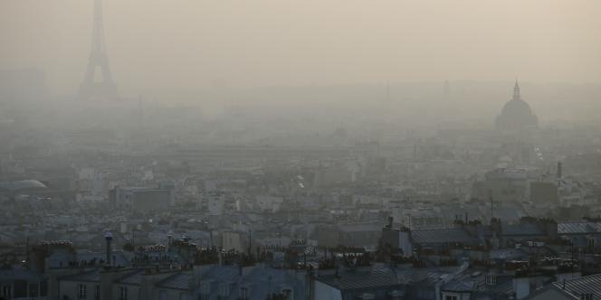 Paris, en mars 2014.