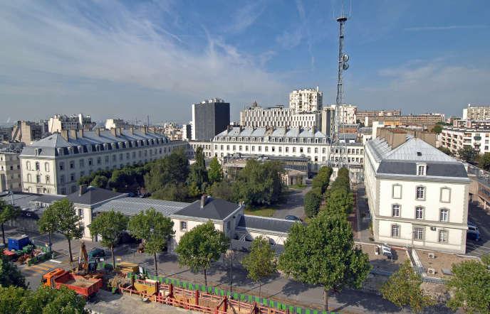 Siège de la DGSE, boulevard Mortier, à Paris.