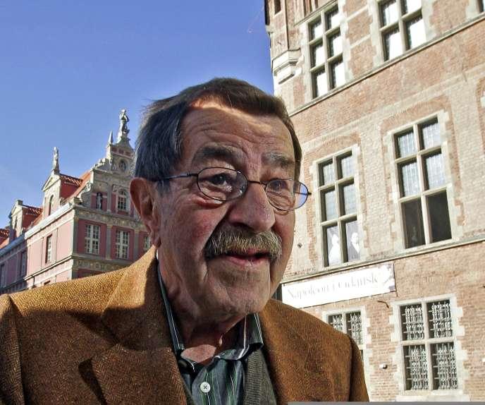 Günter Grass, en octobre 2007, à Gdansk (territoire de Dantzig), la ville où il était né, en 1927.