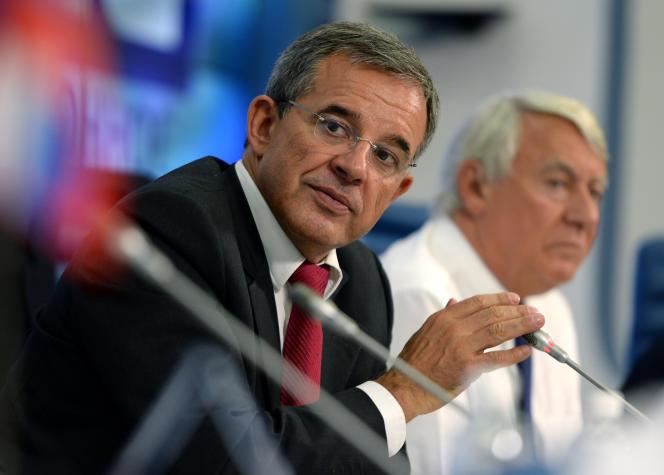 Le député Les Républicains des Français de l'étranger Thierry Mariani, le 11 septembre 2014 à Moscou.