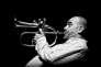 Le trompettiste Stéphane Belmondo et son trio était à l'affiche de la cinquième édition duSaint-Emilion Jazz Festival.