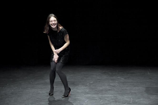 Laetitia Dosch au Théâtre de l'Usine, à Genève, le 12 janvier 2012.