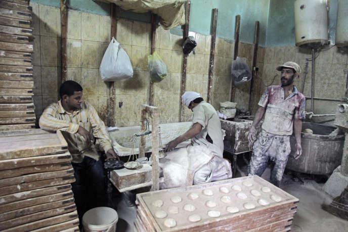 Une boulangerie du Caire.