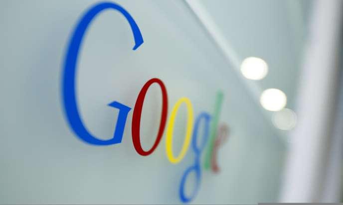 Au siège bruxellois de Google, en mars 2010.