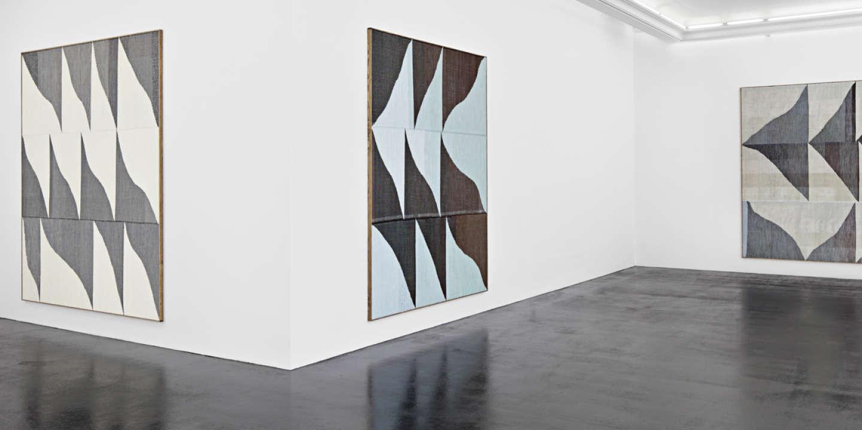 L'exposition Brent Wadden à la galerie Peres Projects, à Berlin, 2014.