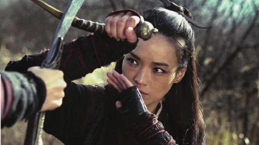 """Shu Qi dans le film chinois de Hou Hsiao-hsien, """"Nie yinniang"""" (""""The Assassin"""")."""