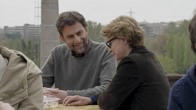 Nanni Moretti et Margherita Buy dans