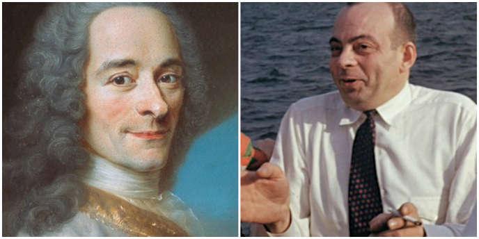 Voltaire et Antoine de Saint-Exupéry.