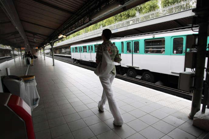 Station Saint-Jacques à Paris.