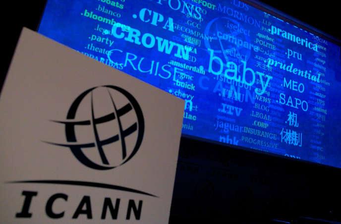 Lors d'une réunion de l'Icann à Londres en 2012.