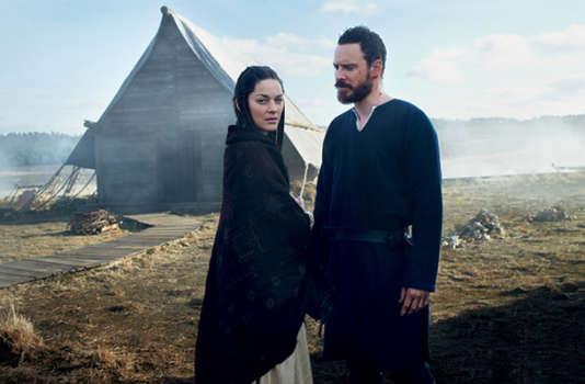 "Marion Cotillard et Michael Fassbender dans ""Macbeth"", de Justin Kurzel."