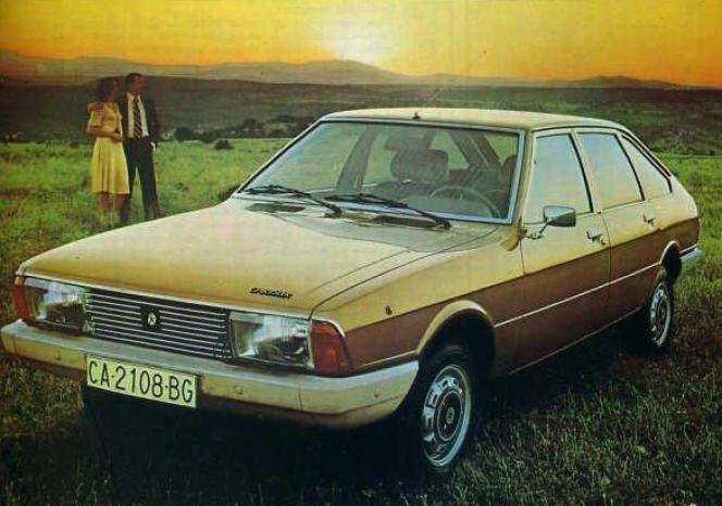 Les pare-chocs en plastique de la Simca 1307/1308 constituent, en 1975, une nouveauté appréciable.