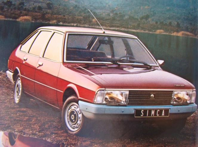 Dévoilée en 1975, la Simca 1307/1308 connaît un beau succès : plus de 250 000 exemplaires vendus dix-huit mois après son lancement.