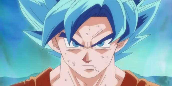 Son Goku inaugure une nouvelle transformation dans Fukkatsu no F, film d'animation sorti samedi 18 avril au Japon.