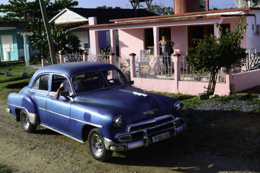 Maison d'hôtes à Vinales, dans la province de Pinar del Río.