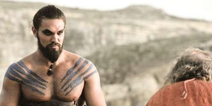Drogo, le chef de la tribu des Dothraki dans la première saison de «Game of Thrones».