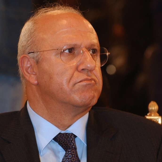Michel Samaha, à Beyrouth, en mars 2005.