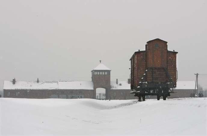 L'ancien camp nazi d'Auschwitz-Birkenau, en Pologne, en 2015.
