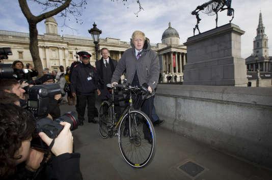 Boris Johnson à Londres en mars 2015.