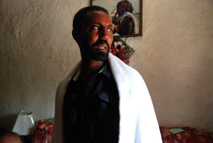 Seyoum Yekuneamelak vit à Cherkos, un quartier pauvre d'Addis-Abeba. Son frère Eyasu a été tué par les militants de l'Etat islamique en Libye.