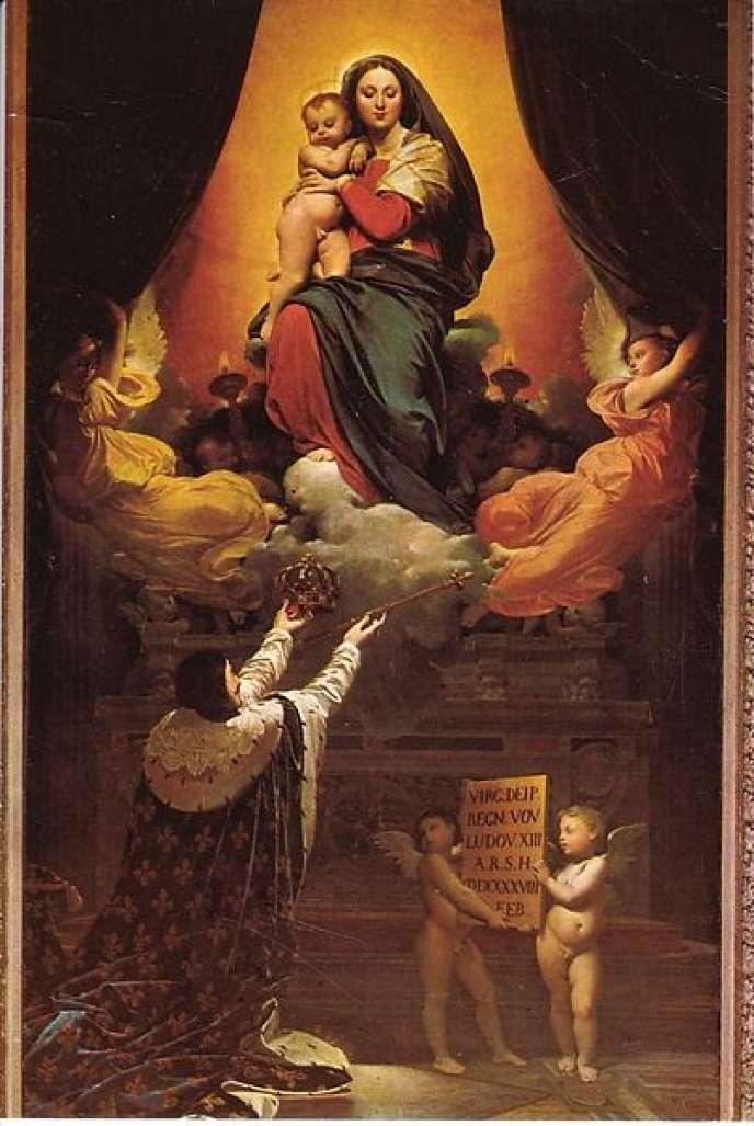 « Le Vœu de Louis XIII », abrité par la cathédrale de Montauban, est la première version du tableau retrouvé à Lons-le-Saunier (Jura).