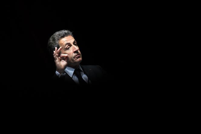 Nicolas Sarkozy, à Nice, le 22avril.