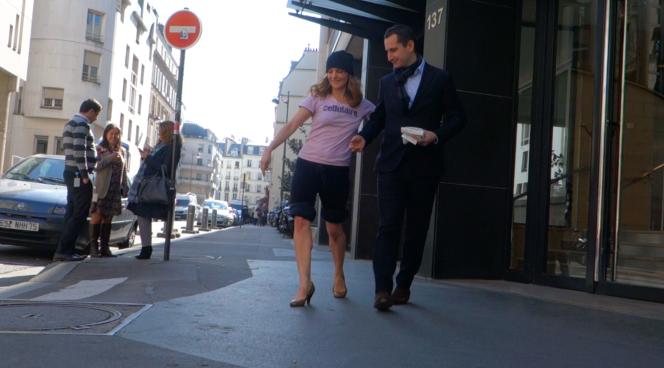 Capture d'écran d'une des vidéos de la série
