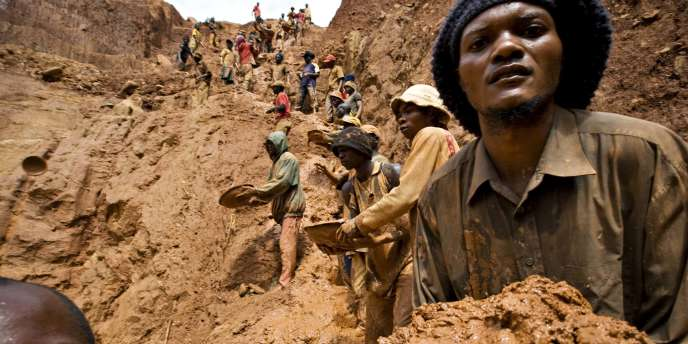 Dans une mine de l'est de la République démocratique du Congo.