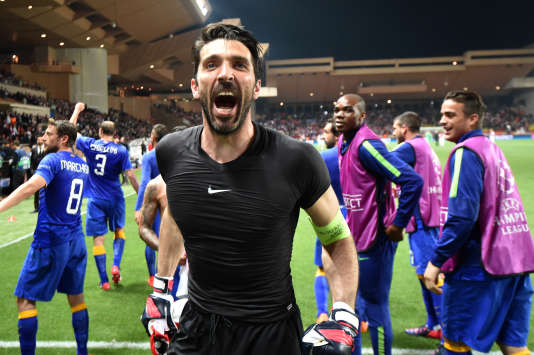 Gianluigi Buffon en 2015.