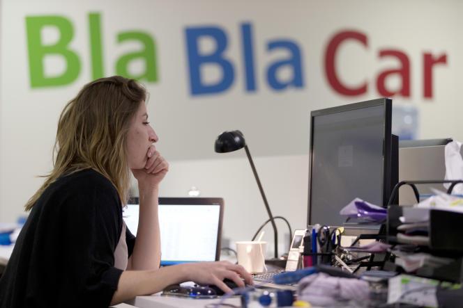 Les bureaux de Blablacar, à Paris.