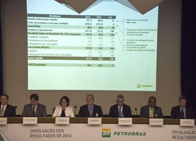 Petrobras a estimé à près de deux milliards d'euros ses pertes liées au vaste système de corruption mis à jour par la justice brésilienne.