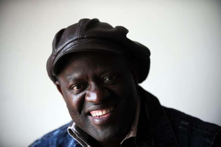 Alain Mabanckou, écrivain franco-congolais. Los Angeles, le 15 mai 2010