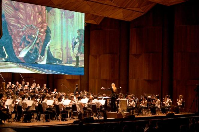 Le concert «The Legend of Zelda : Symphony of the Goddesses» au Wembley Arena, à Londres, en 2016.