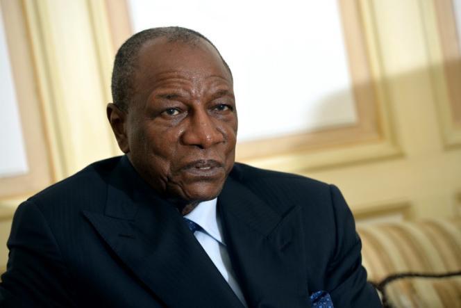 Alpha Condé, président de la Guinée.